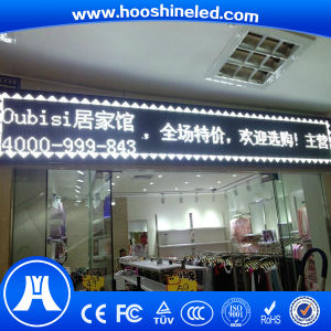 High Density Outdoor Single Color P10-1W DIP Text LED Display pictures & photos