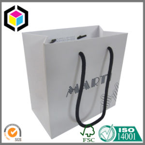 Ribbon Handle Carrier Paper Bag for Shopping Promotion pictures & photos