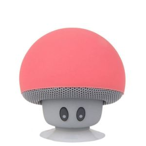 Mushroom-Shaped Bluetooth 2.1 Speaker with Suction Cup & Built-in Microphone pictures & photos