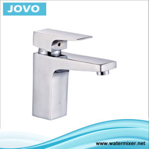 Modern Chromed Single Handle Basin Water Faucet Jv70201 pictures & photos