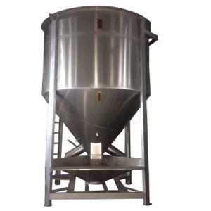 Industrial Vertical Plastic Color Mixer with Heating and Drying Function