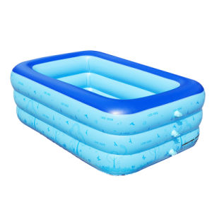 150cm PVC Inflatable Swim Pool for Family pictures & photos