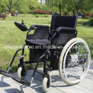 Foldable Electric Wheelchair with Ce (XFG-102FL) pictures & photos