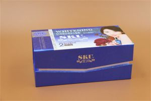 Box with Book Shape for Skin Care