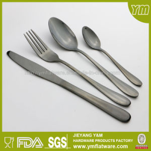 High Quality Stainless Steel Black Flatware Made in China