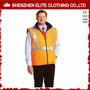 3m Reflective Workwear Winter Sleeveless Work Jackets for Men pictures & photos