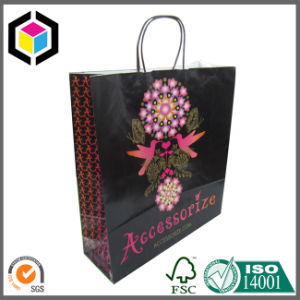 Glossy Spot UV Fashion Hand Paper Shopping Bag pictures & photos