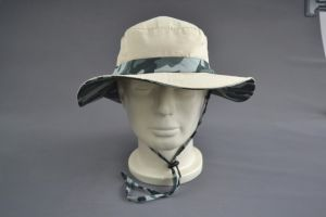 Camo Color 100% Polyester Oudoor Sun Hat pictures & photos