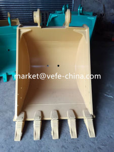 Komastu PC120-5 Excavator Bucket with Teeth pictures & photos