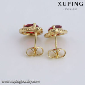 94291 Fashionable Jewelry 14k Gold Plated Eye Tear Women′s Earring pictures & photos