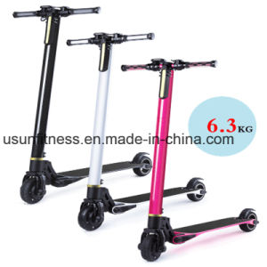 New Design Aluminum Alloy Folding Electric Scooter with LCD Display pictures & photos