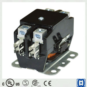 UL/Ce/CSA Definite Purpose Home AC Contactor 2 Pole for Lighting/Air Condition pictures & photos
