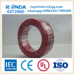 Flexible PVC Insulated Copper Core Electric Wire pictures & photos