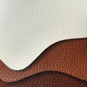 Genuine Leather Quality Faux PU Leather for Sofa Hw-234 pictures & photos