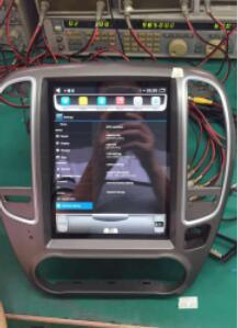 2 DIN Car DVD GPS with Car Audio for Nissan Sylphy 12.1in Vertical