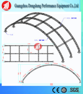 Useful Innovative Arch Aluminum Stage Truss Drawing pictures & photos