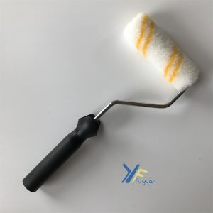4′′ Acrylic Mini Double-Yellow Stripe Paint Roller pictures & photos