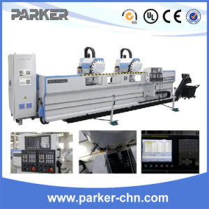 CNC Aluminum Profile Double Head High Speed 3-Axis Copy Router pictures & photos
