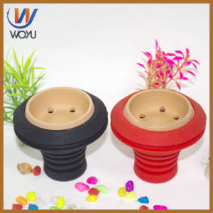 Clay Carbon Bowl Silicone Shisha Charcoal Bowl Hookah Accessories Vaporizer Glass Water Pipe Glass Smoking Pipe Glass Pipe Shisha Hookah Smoking Pipe Vaporize pictures & photos
