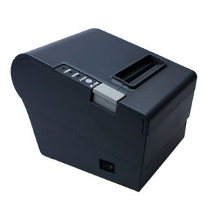 80mm Thermal Receipt POS Printer with USB/LAN/Serial Interface Auto Cutter