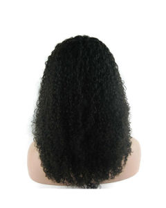 """8""""-26"""" Kinky Curly Lace Front Wig"""