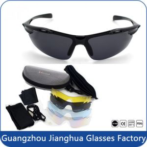with Lenses Custom Logo Colorful Polarized Floating Sports Sunglasses pictures & photos