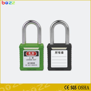 Bd-G01 Safety Padlock ABS Body Steel Shackle pictures & photos