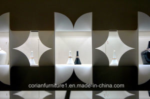 Corian Made Special Design Shop Retail Display Units pictures & photos