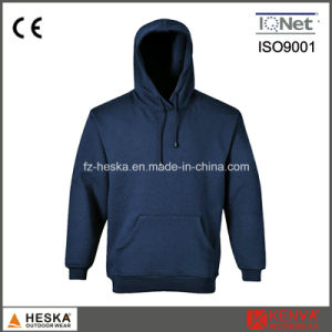 100% Cotton Plain Hoodies Long Sleeve Men Sweatshirt pictures & photos