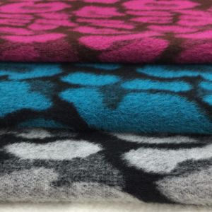 Brushed Jacquard Wool Fabric for Overcoat Ready pictures & photos
