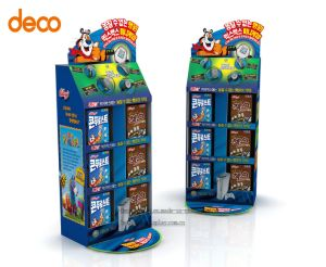 Cardboard Display Corrugated Board Display Stand for Surperket pictures & photos