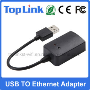 USB 2.0 to 10/100Mbps RJ45 Ethernet Wired LAN Network Card pictures & photos
