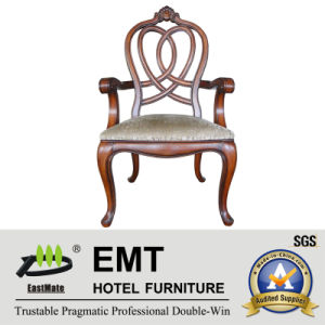 Star Hotel European Style Wooden Chair Designs (EMT-AP023-807) pictures & photos