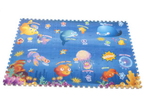 Baby Play Mat Stitching Style Lock Safety Material Practice Crawling for Baby 0860b