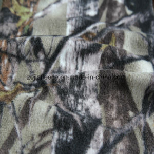 Jacket Print Polar Fleece with Two Side Brushed One Side Antipilling pictures & photos