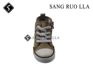 Stock Canvas Boots for Kids Shoes USD1.65 pictures & photos