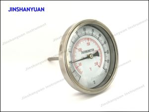 Bt-010 Stainless Steel Bimetal Thermometer/Radial Direction Thermometer pictures & photos
