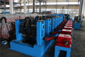 Adjustable Gutter Roll Forming Machine by Gear Box pictures & photos