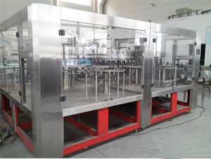 SGS High Quality Automatic Carbonated Drinks Filling Machine/ on Sale pictures & photos