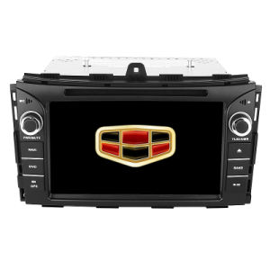 Geely Ec7 2014 Andriod System Double DIN DVD Player with Built-in WiFi Bt Radio TPMS Rearview Camera