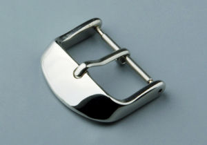 Popular High Quality Tang Buckle for Leather Strap pictures & photos