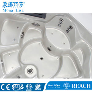 Round Jacuzzi Whirlpool Massage Pool SPA Hot Tub (M-3356) pictures & photos
