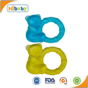2017 New Design Soft Baby Teething Ring BPA-Free Baby Chew Toys