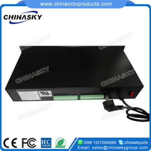 12VDC 25A Rack Mount CCTV Camera Power Supply (12VDC25A16P/R) pictures & photos