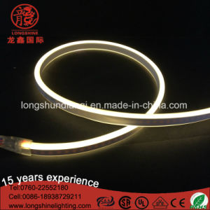 220V LED Blue Double Lighting View Mini Neon Flexible Rope for Buliding Home Decoration 100m/Roll pictures & photos