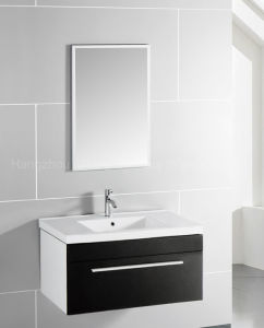 MDF Vanity with Ceramic Basin in Bathroom pictures & photos