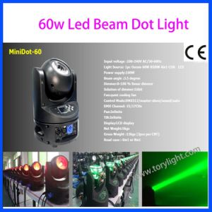 Stage Light 60W Mini Beam DOT Moving Head pictures & photos