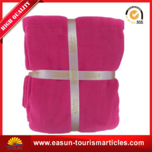 Cheap Polyester Travel Fleece Blanket Factory China pictures & photos