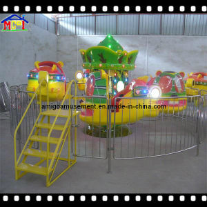 Kids Indoor Playground Coin Operated Ride Super Plane pictures & photos