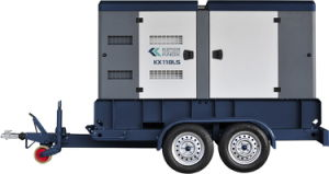 Kipor Knox Trailer Type Mobile Diesel Generator Set Kx118ls pictures & photos